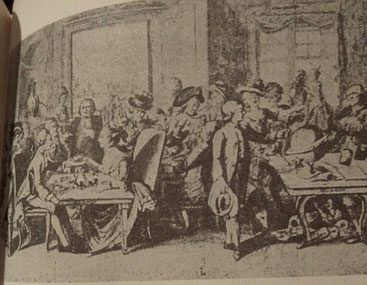 ドイツ カフェ 1770年 18世紀後半