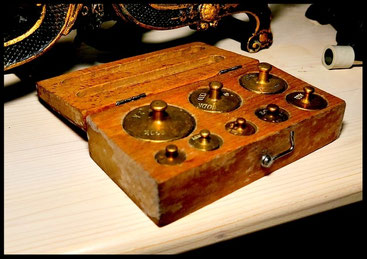 """Auch Geringes kann den Ausschlag geben: Die römische Gewichtseinheit """"Gran"""" entsprach - vom Gerstenkorn abgeleitet - etwa 47 mg"""