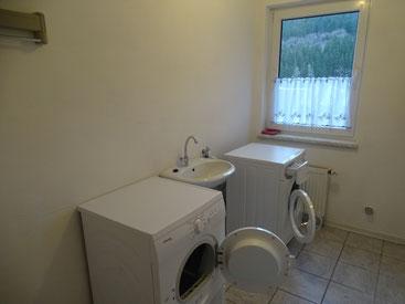 Wasch- und Trockraum