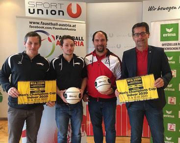 Sportunion Schärding Faustball Hannes Dinböck