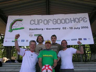 Matthias Schrenk, Benny Adrion, Frank Steiner, Konstantin Muffert und Volker Hillmann (v.l.n.r.)