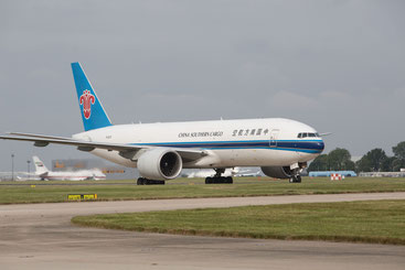 China Southern operated Boeing 777F
