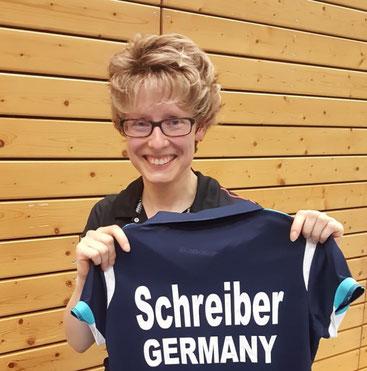 Sandra Schreiber spielte mit und gegen Juniorinnen und Seniorinnen