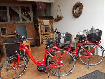Fahradverleih, Leihräder, Ebike,  E bike