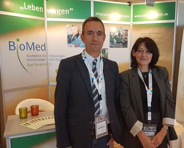 v.l.n.r. Dr. Fadil Brovina, Frau Elke Walther