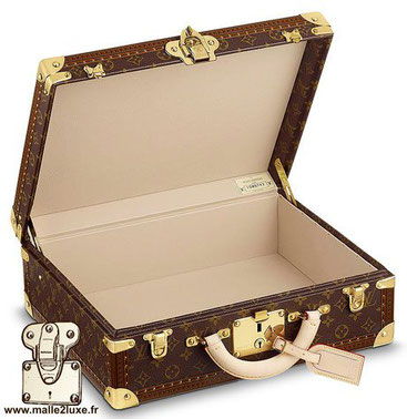 Cotteville suitcase Often confused with a President's suitcase, or a Bisten. The Cotteville suitcase is a small size from Bisten   Standard dimensions: 55cm x 39cm x 15cm  50cm x 37cm x 15cm  45cm x 34cm x 15cm  40cm x 32cm x 15cm  This model is accepted