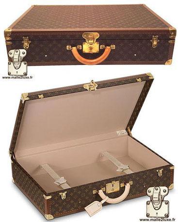 Bisten suitcase empty interior has 2 straps     Standard dimensions:   80cm x 52cm x 18cm   75cm x 49cm x 18cm   70cm x 47cm x 18cm   65cm x 44cm x 18cm   60cm x 42cm x 18cm  55cm x 39cm x 18cm  50cm x 37cm x 18cm  Price of a  new Bisten suitcase at Louis