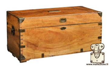 Solid camphor wood chest - circa 1950