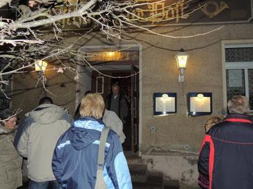 Der Ort des Geschehens, das Gasthaus zur Post in Erxleben