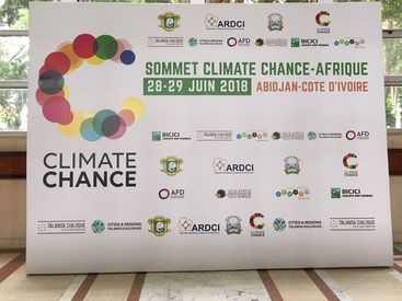 Blu Karb presents its charcoal production technology at the Abidjan summit