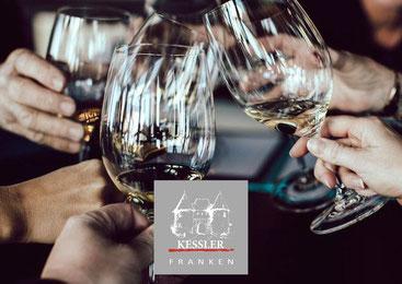 Menü begleitende Weinprobe