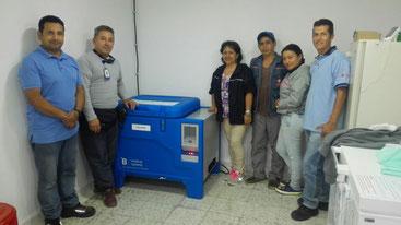 Equipo de instalación: Carlos Ferney Lopez Prieto and equipo de Caldono
