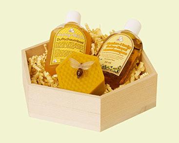 Honig Milchbad und Akazienhonig shampoo