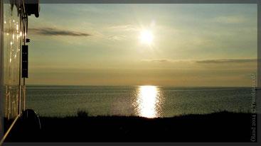 Sonnenuntergang auf dem SP Grönhögen