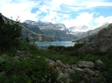 lac salanfe randonnee groupe écoles famille suisse