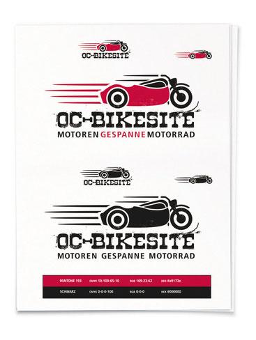 Logoentwicklung OC-Bikesite