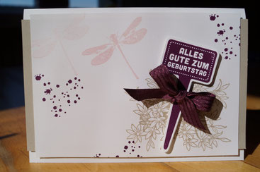 "Geburtstagskarte mit dem Stempelset ""Awesomely Artistic"" - Patricia Stich 2015"