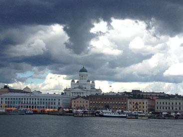 Der Hafen von Helsinki