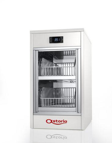 Astoria Hybrid / Vollautomatische Siebträgermaschine / Tassenschrank