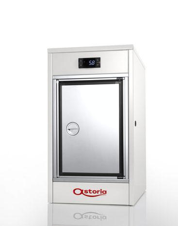 Astoria Hybrid / Vollautomatische Siebträgermaschine / Kühlschrank