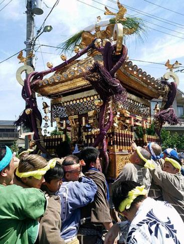 八剱八幡神社,夏季例祭,2020年,令和2年,大神輿巡行,開催中止,木更津市
