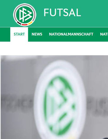 Bild: Screenshot DFB Homepage