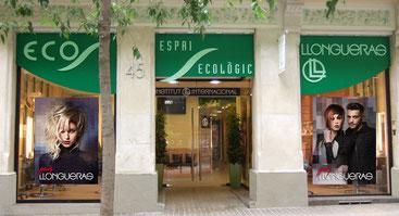 Espai Ecològic Llongueras en la calle Enric Granados, Barcelona