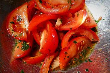 Schneller Tomatensalat