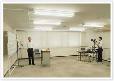 エネルギー管理士DVD講座の収録風景