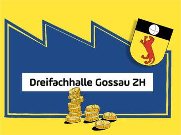 Die Dreifachhalle bekommt einen Zustupf vom kantonalen Sportfonds. Grafik: TUDOR DIALOG
