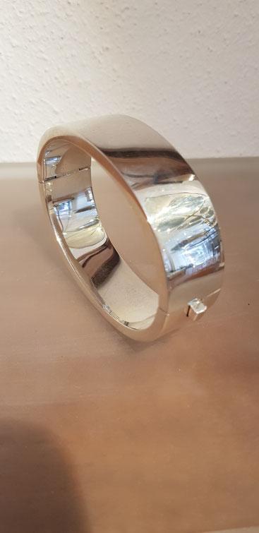 Armreif Sterling Silber mit Gravur Verzierung