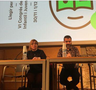 Gemma Pascual i Jordi Martí