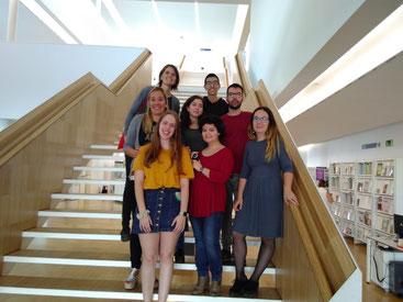 A les escales de la Biblioteca Carles Rahola