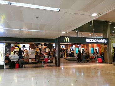 El lugar de los hechos... McDonald's de Sants Estació