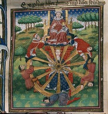 """""""Roda de la Fortuna"""" (c.1455-1462), Llibreria Birtànica"""