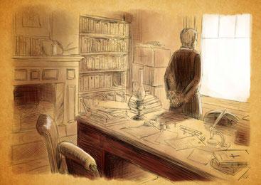 Ilustraciones de Gerard Cros