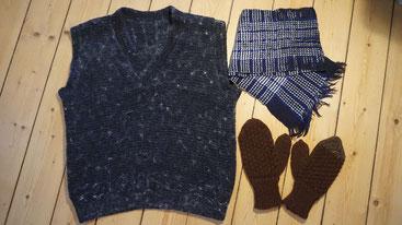 Les tricots maison pour la reconstitution historique
