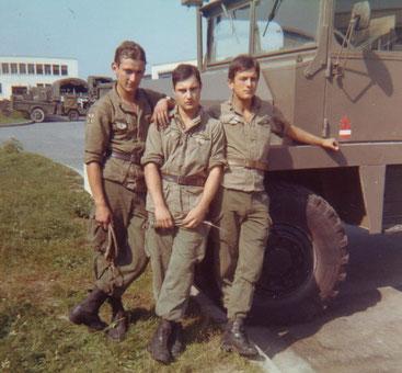 Service militaire au 12éme RA en 1970