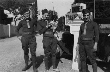 Les pulls Jersey 1936 dans l'armée francaise