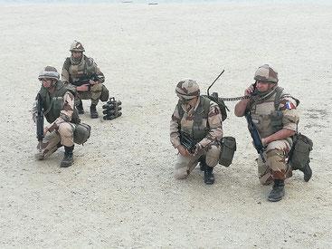 """Reconstitution """"Opération Daguet - 1991"""""""