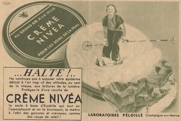 Publicité de 1936