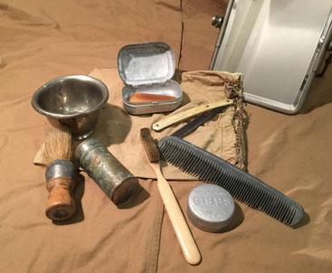 Un exemple de trousse de toilette du soldat de la première guerre mondiale