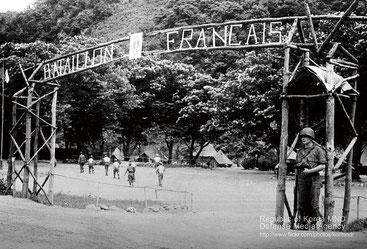 La bataillon français en Corée