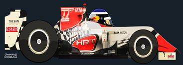 Daniel Ricciardo by Muneta & Cerracín