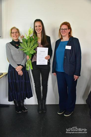 Prof. Dr. Christina Jasmund, Maren Winzen, Serena Berghaus