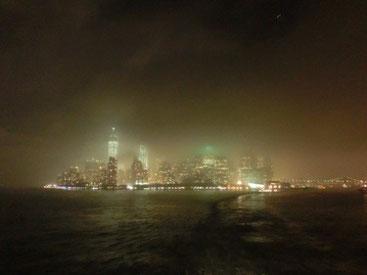 Skyline NYC - Blick von der Staten Island Ferry