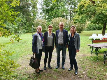 v.l.: Carmen Breitwieser, Helga Pollhammer (MIA), Gerald Angerbauer, Sonja Neuwirth