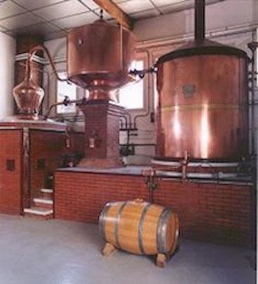 Destilleer installatie Fradon