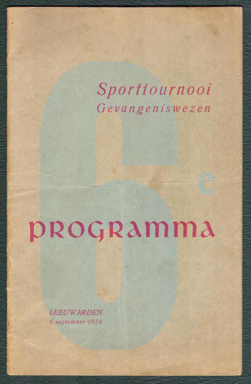 Sporttoernooi Gevangeniswezen 1956