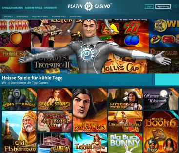 Casino Lobby Platincasino
